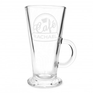 Bistro Latte Glass