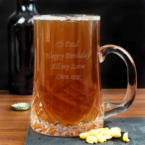 Pint Crystal Tankard