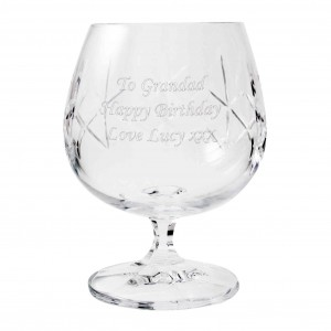 Crystal Small Brandy Glass