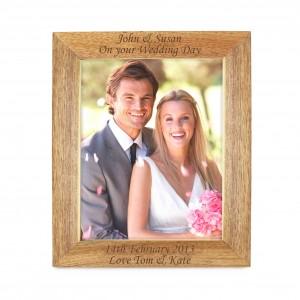 10x8 Wooden Photo Frame