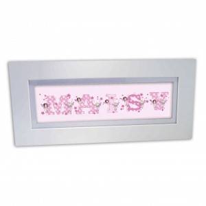 FAIRY LETTER Name Frame