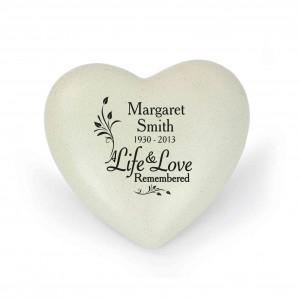 Life & Love Heart Memorial