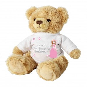 Fabulous Bridesmaid Message Bear