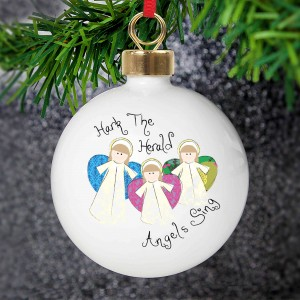 Nativity Angels Bauble