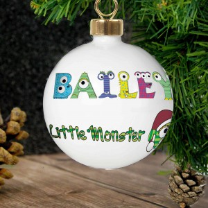 Little Monster Bauble