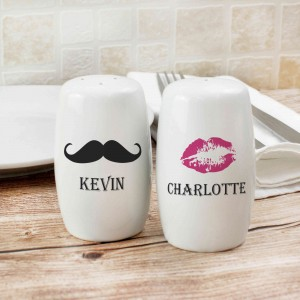 Moustache & Lips Salt and Pepper Set