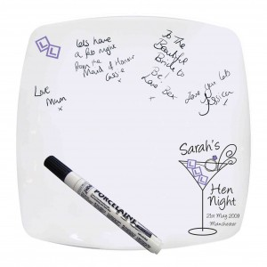 Hen Night Message Plate