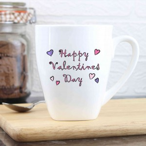 Happy Valentine's Day Latte Mug