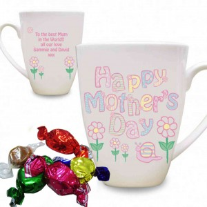 Daisy Mothers Day Latte Mug