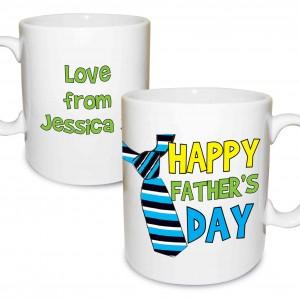 Happy Father's Day Tie Mug
