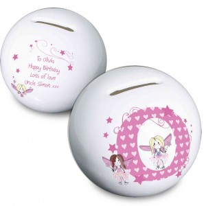 Fairy Letter Money Box