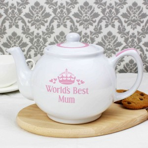 Pink Worlds Best Teapot