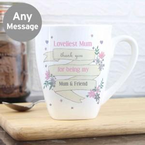 Garden Bloom Latte Mug