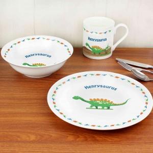 Dinosaur Breakfast Set