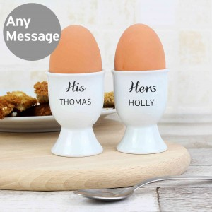 Classic Pair of Egg Cups