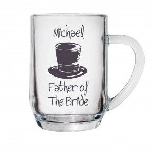 Wedding Top Hat Tankard