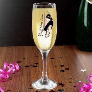 J'adore Paris Flute Glass