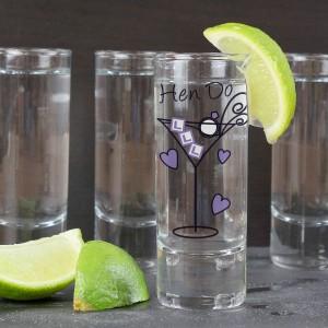 Hen Do Shot Glass