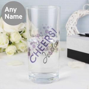 Cheers Hi Ball Glass