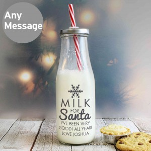Milk for Santa Milk Bottle