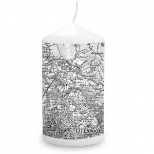 Map Candle - Old Series 1805 - 1874