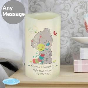 Tiny Tatty Teddy Cuddle Bug LED Candle