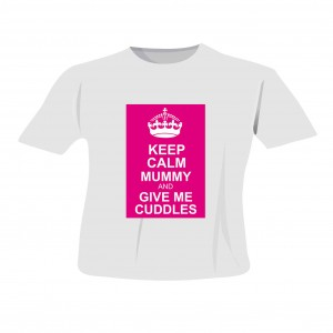 Pink Keep Calm T-Shirt 3-4 Years