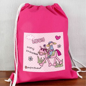 Bang On The Door Pony Girl Swim bag