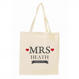 Mrs Cotton Tote Bag