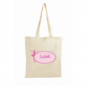 Ballerina Cotton Bag