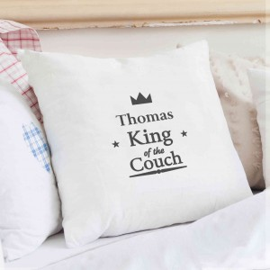 King of the Couch Cushion Cover