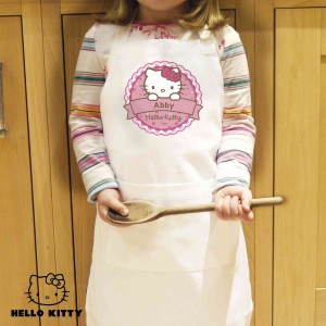 Hello Kitty Floral Kids Apron