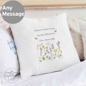 Country Diary Wild Flowers Cushion Cover