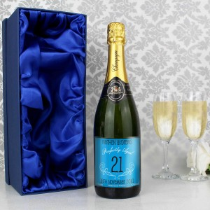 Age Champagne Blue with Gift Box