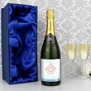 Baby Face Blue Champagne with Gift Box
