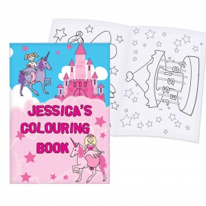 Princess Colouring Book