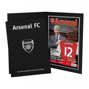 Arsenal Magazine Cover Folder