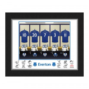 Everton Dressing Room Folder