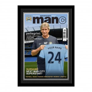 Manchester City Magazine Cover Folder