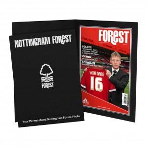 Nottingham Forest Magazine Cover Folder
