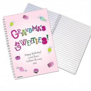 Grandmas Sweeties A5 Notebook