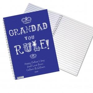 Grandad You Rule Notebook