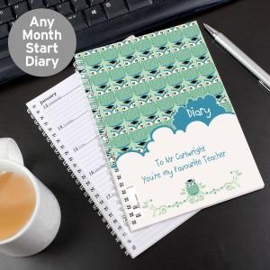 Mr Owl A5 Diary