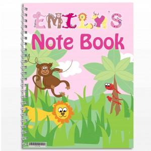 Girls Animal Alphabet Notebook