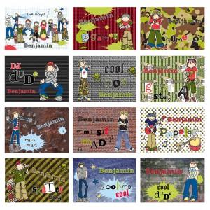 Bang on the Door Boys Calendar