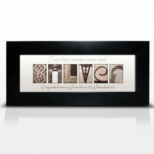 Affection Art Silver Small Frame