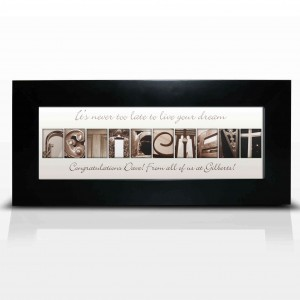 Affection Art Retirement Small Frame