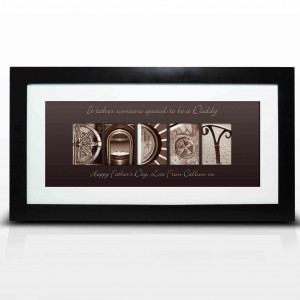 Affection Art Daddy Large Frame