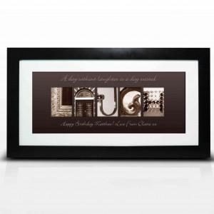 Affection Art Laugh Large Frame
