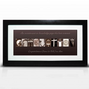 Affection Art Graduation Large Frame